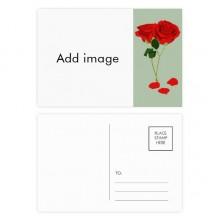 明信片卡片祝福玫瑰情人节卡20张