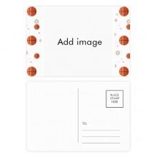 明信片卡片祝福篮球卡20张