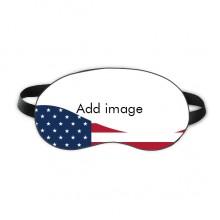 睡眠美国旗夜晚健康眼罩