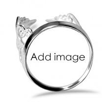 订婚可调节爱情婚戒指