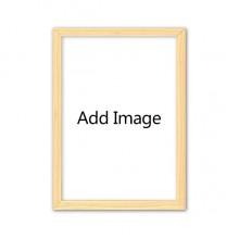 纯木色装饰居装饰画框A4