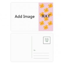 明信片卡片五月雏菊卡