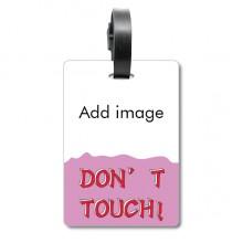 不要碰触行李牌身份卡标签旅行