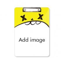 卡通文件夹书写垫板资料整理A4