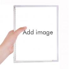硬质塑料活页笔记本记事本子