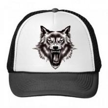 狼族图腾野性动物图案棒球帽子
