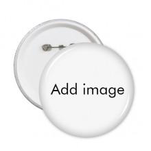 圆形徽章胸章胸牌装饰挂牌5件礼物