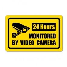 摄像头监控指示贴纸