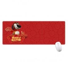 超大号游戏办公防滑锁边鼠标垫80x30cm桌垫