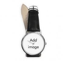 男女手表简约荔枝纹表带石英表礼物