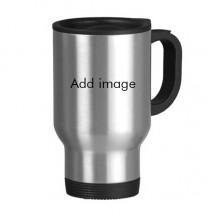 不锈钢旅行杯汽车杯带把手杯子450ml礼物