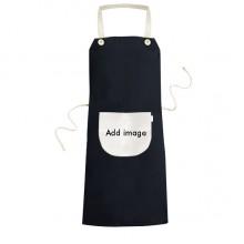 黑色米色厨房咖啡餐厅奶茶店工作家居服围裙礼物