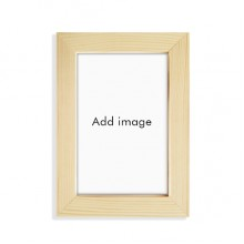 实木摆台相框原木质家居装饰画框6寸