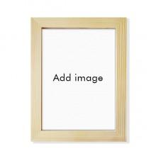 实木摆台相框原木质家居装饰画框8寸