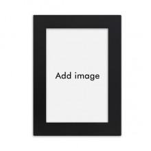 实木摆台相框黑色家居装饰画框6寸