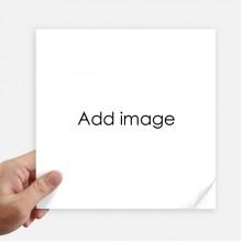 方形贴纸20cm摩托电脑贴画旅行箱装饰4片