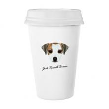 小猎狗宠物动物 陶瓷杯子可爱创意马克杯牛奶杯水杯带盖咖啡杯