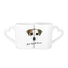 小猎狗宠物动物 情侣马克水杯陶瓷杯子个性咖啡杯创意牛奶杯礼物