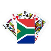 南非国旗非洲国家象征符号图案 扑克牌休闲纸牌游戏纪念礼物