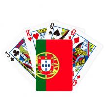 葡萄牙国旗欧洲国家象征符号图案 扑克牌休闲纸牌游戏纪念礼物