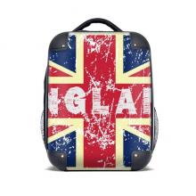 英国国旗米字旗标记插画 硬质双肩背包15寸旅行包学生包礼物
