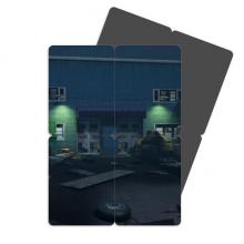 惊悚罗布泊丧尸探险游戏 磁性冰箱贴磁力贴拼图(一组4枚)