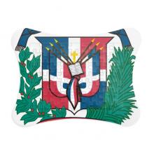 多米尼加国徽标志符号图案 纸质卡片相框拼图游戏桌面装饰礼物