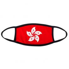 中国香港区旗紫荆花红旗 防冻防风防尘保暖口罩时尚面罩礼物