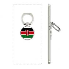 肯尼亚国旗非洲国家象征符号图案 手机支架指环多功能黏贴懒人桌面支撑礼品