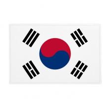 南韩国旗亚洲洲国家象征符号图案 防滑地垫地毯卧室卫生间地板法兰绒垫礼物
