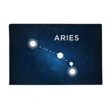 白羊座星座星盘宇宙 防滑地垫地毯卧室卫生间地板法兰绒垫礼物