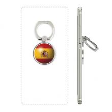 西班牙国旗足球纹样 手机支架指环多功能黏贴懒人桌面支撑礼品