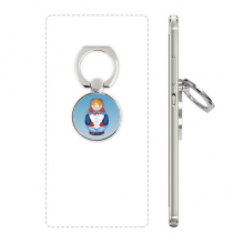 俄罗斯国家标志套娃 手机支架指环多功能黏贴懒人桌面支撑礼品