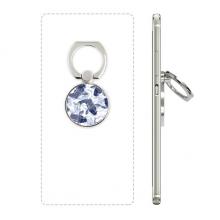 日本鲤鱼波浪蓝色纹样 手机支架指环多功能黏贴懒人桌面支撑礼品