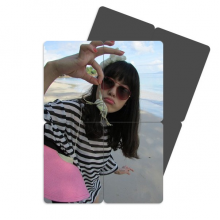 Ellie写真摄影海滩可爱寄居蟹 磁性冰箱贴磁力贴拼图一组4枚礼物