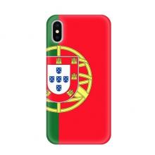 葡萄牙国旗欧洲国家象征符号图案 苹果iPhoneX手机软壳TPU硅胶超薄全包围保护套