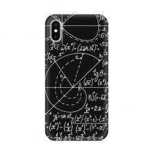 数学理科公式演算手绘简笔画 苹果iPhoneX手机软壳TPU硅胶超薄全包围保护套