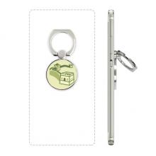 长城中国图案 手机支架指环多功能黏贴懒人桌面支撑礼品