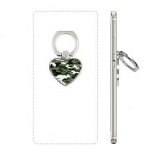迷彩线条艺术纹理插画图案 心形手机支架指环黏贴懒人桌面支撑礼品