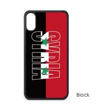 叙利亚国旗英文名 iPhone XS Max手机壳apple苹果手机保护套礼物