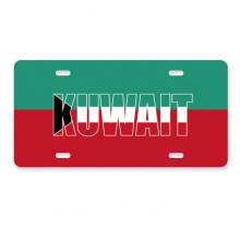 科威特国旗英文名 美国车牌汽车家居店铺装饰礼物