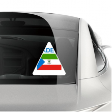 赤道几内亚国旗国家制造 车贴汽车贴纸不干胶装饰