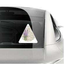 紫色薰衣草植物花卉 车贴汽车贴纸不干胶装饰