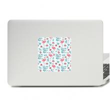 火烈鸟与植物 笔记本电脑贴纸装饰贴画