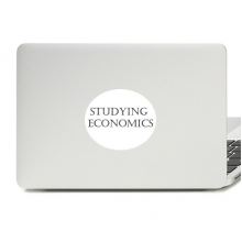 专业学科正修读计算经济学短句 平板电脑贴纸装饰贴画