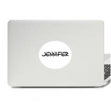 手写英文名个性私人订制Jennifer 平板电脑贴纸装饰贴画