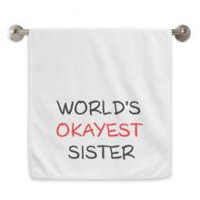 点赞的姐姐英文祝福 白色毛巾细纤维面巾加厚吸水干发巾34x76cm