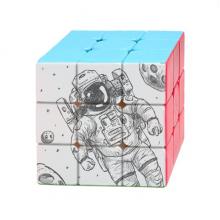 宇宙和外星宇航员 三阶魔方益智玩具游戏