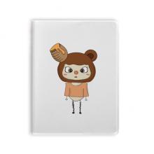 动物熊棕色大自然蜂蜜悠悠 套胶本笔记日记本子手账