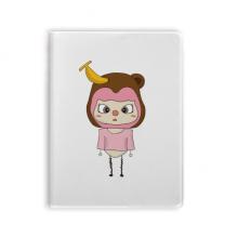动物猴子大自然淘气香蕉悠悠 套胶本笔记日记本子手账